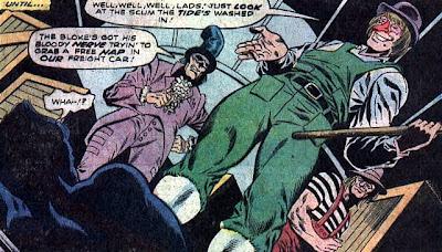 Atlas Comics, Morlock 2001 #2, Droogs on a train