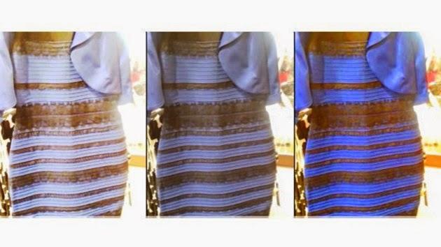Vestido azul e preto verdadeiro