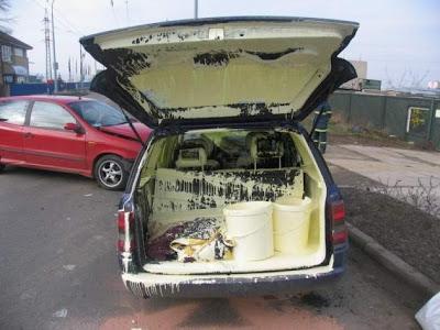 coche pintura humor