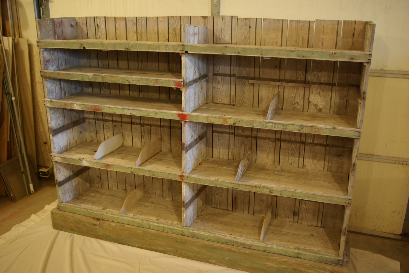 Marvelous photograph of Reclaimed Rustics: Rustic Barn Wood Bookcase with #412B10 color and 1600x1067 pixels