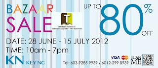 KN Key Ng Bazaar Sale 2012