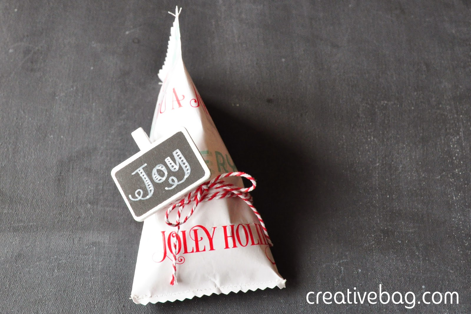 get creative with wrapping paper | Creative Bag {dot} com