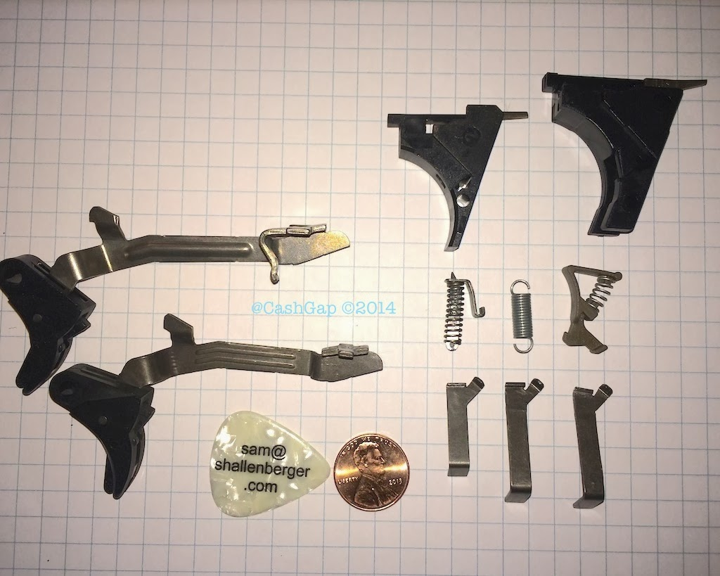Cash Gap: Glock 42 UNOFFICIAL Armorer Update and Glock 26 Comparison