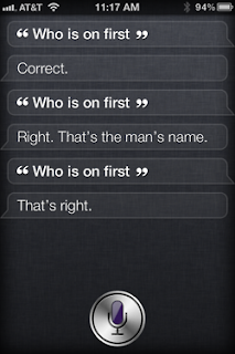 Siri: Who is on first?