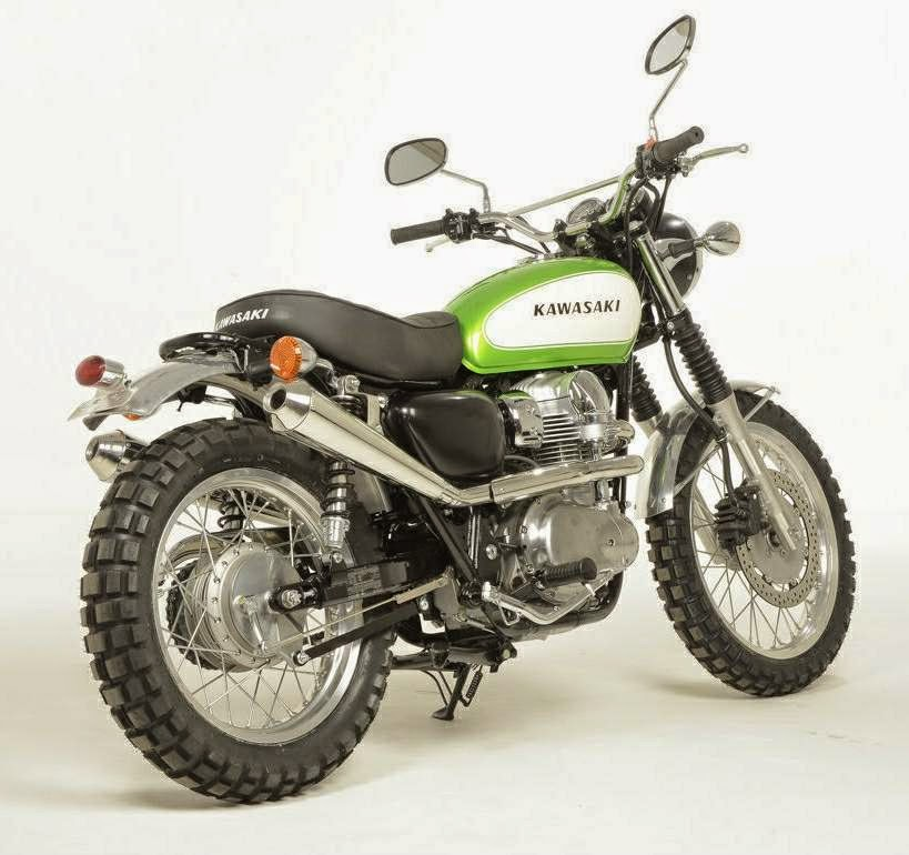 kawasaki w800 scrambler custom grease n gas. Black Bedroom Furniture Sets. Home Design Ideas