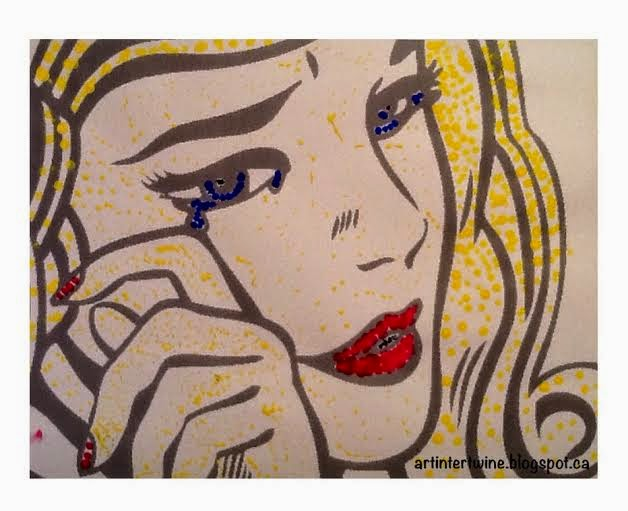 Roy Lichtenstein Crying Girl