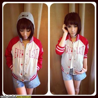 Short Hair Styles Asian Women_Mo Monchanok