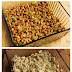 Layered Mexican Casserole Recipe with Chicken, Green Chiles, Pinto Beans, and Cheese