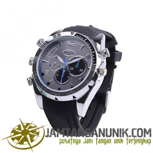 8GB Night Vision 1080P HD Waterproof Spy Camera Watch