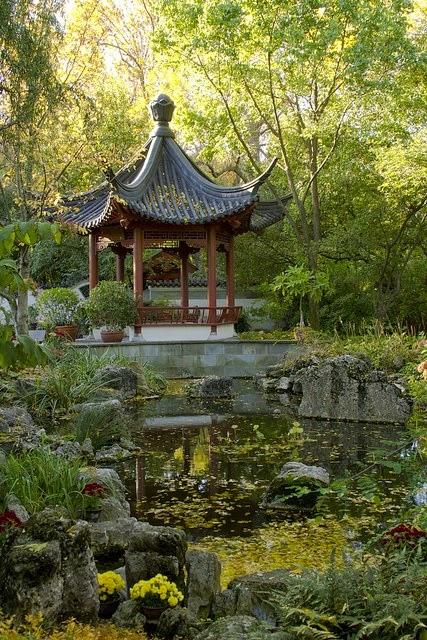bahçe düzenleme, japon bahçeleri, çin bahçeleri