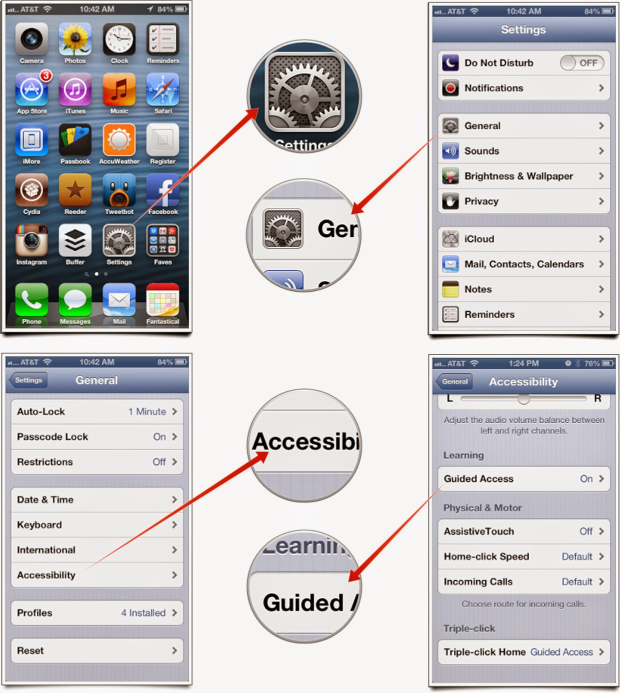 iphone guided access