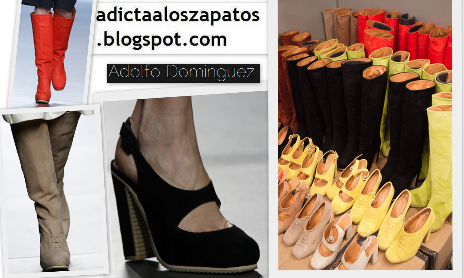 Adicta a los zapatos cibeles madrid fashion week febrero for Adolfo dominguez goya
