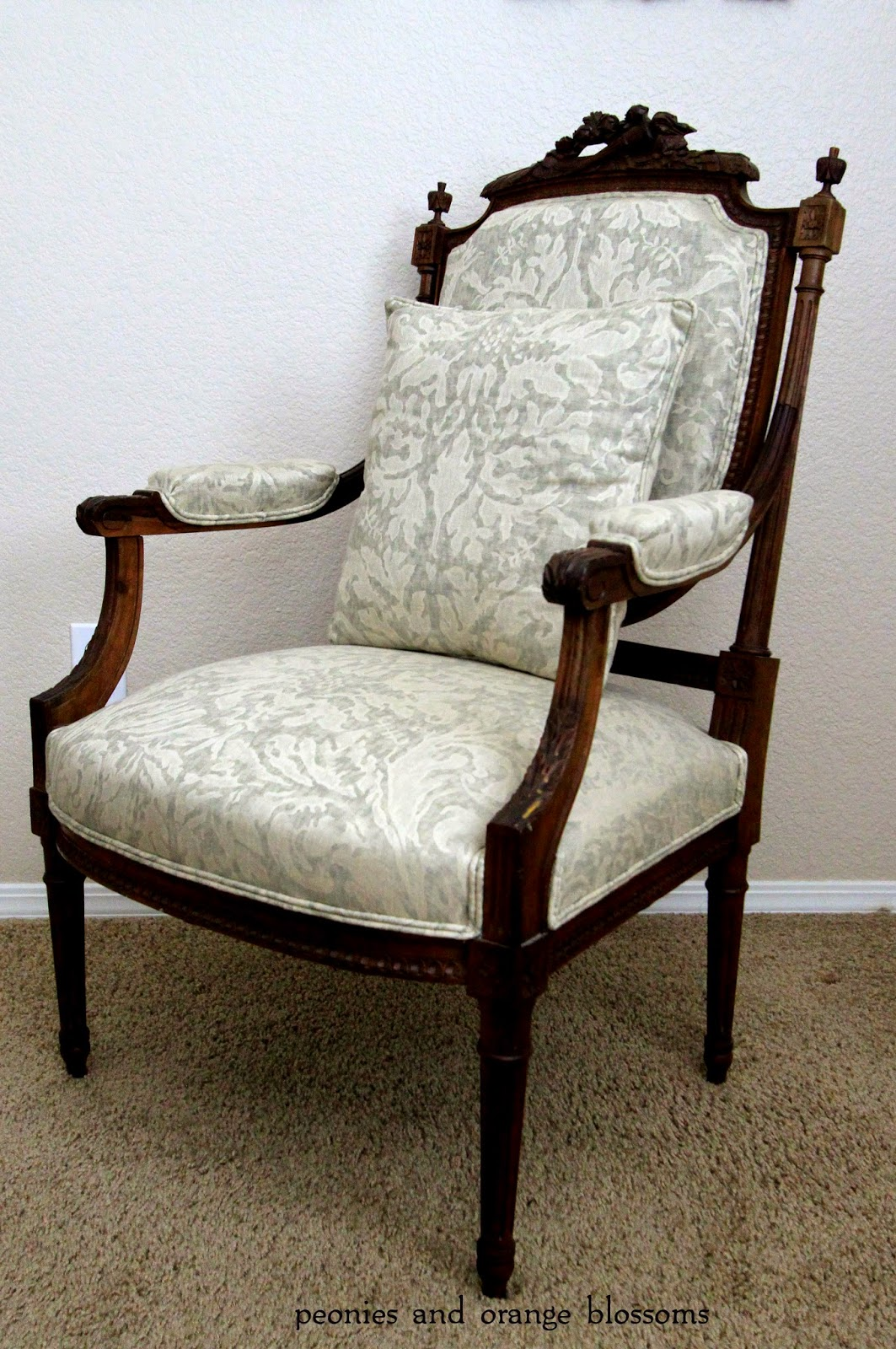 Antique french chair - What I Think It Unusual About The Chair Is The Dark Wood I Haven T Seen Too Many French Chairs With Dark Wood Everything Is Light Colored Wood