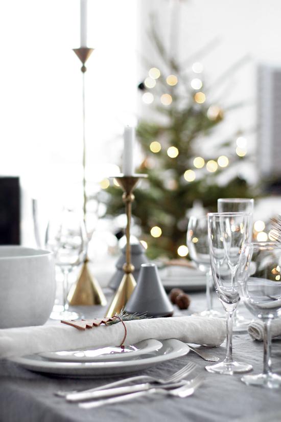 Happy holidays stylizimo - Mesa de navidad elegante ...