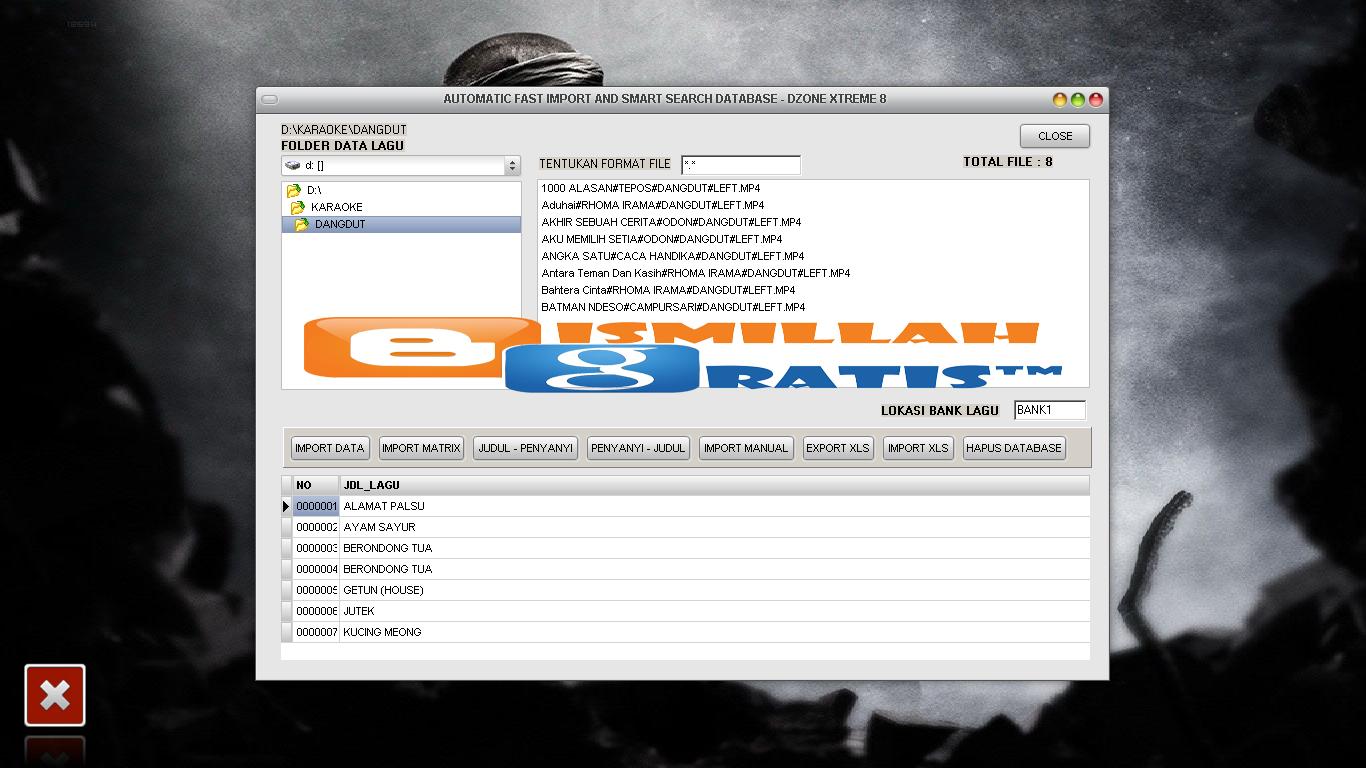http://bismillah-gratis.blogspot.com/2014/11/BG-tutorial-cara-import-data-base-dzone-xtreme-8-pro-dan-mengganti-running-text.html