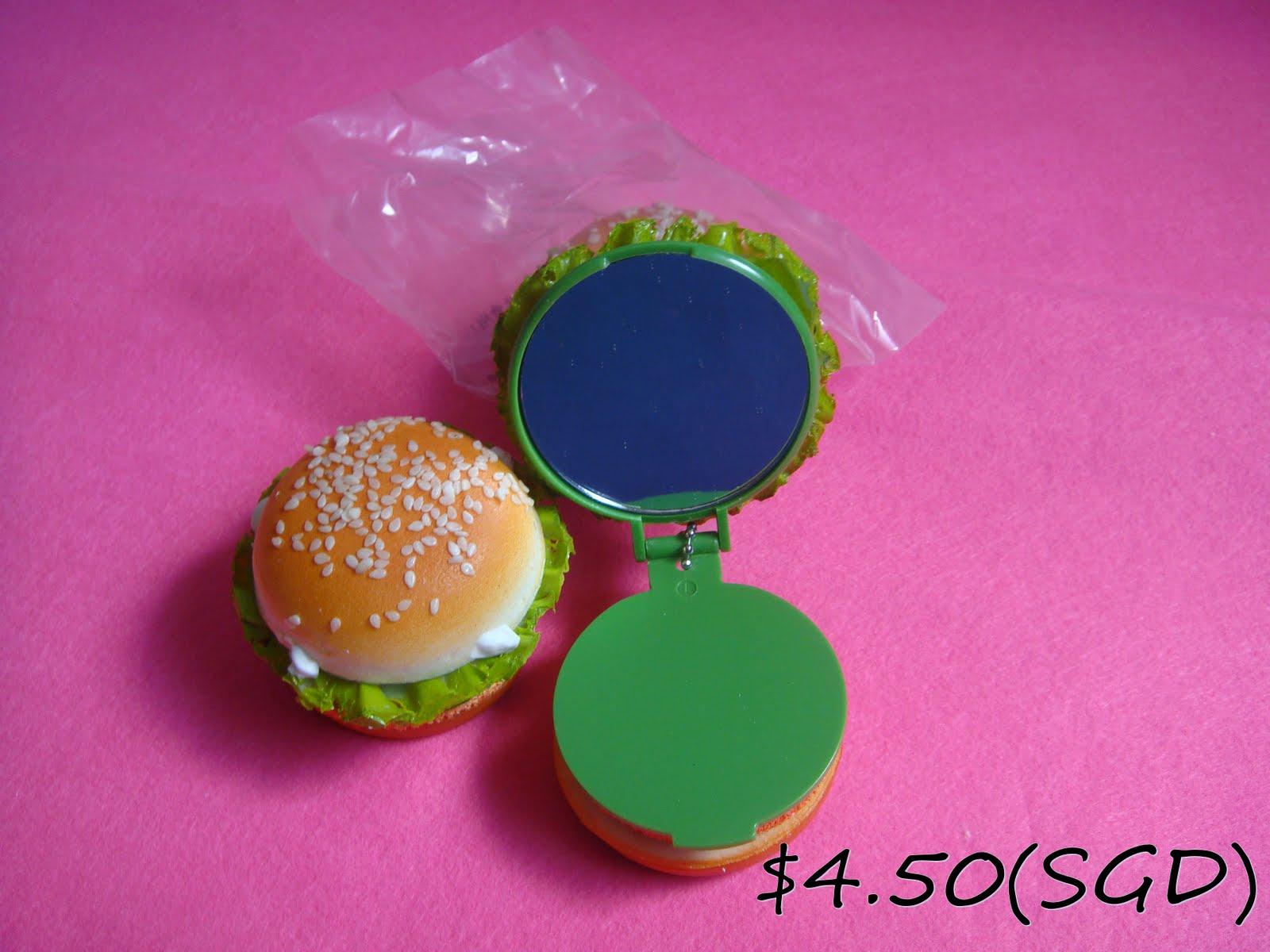 Squishy Burger Mirror : PINK Little Store: Squishy
