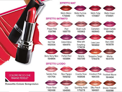 ROSSETTO COLORE SEMPREVERO ULTRA COLOR di AVON
