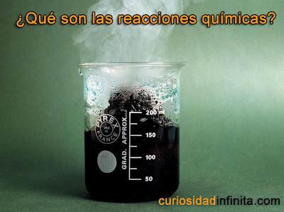 qué son las reacciones químicas, ejemplos
