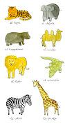 Animales salvajes (2). Enviar por correo electrónicoEscribe un blogCompartir .