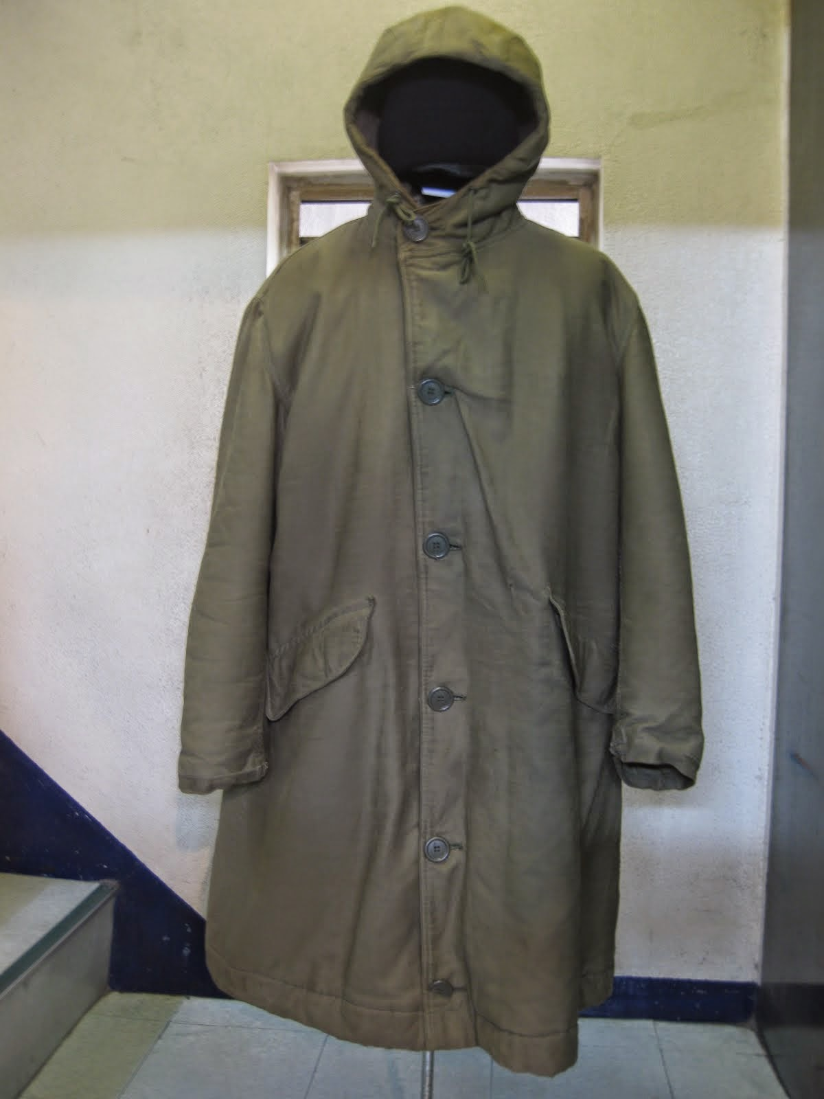 40's W.W.2               U.S.NAVY               DECK COAT