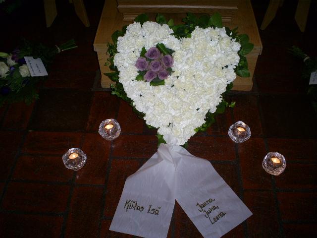 en sista hälsning begravning