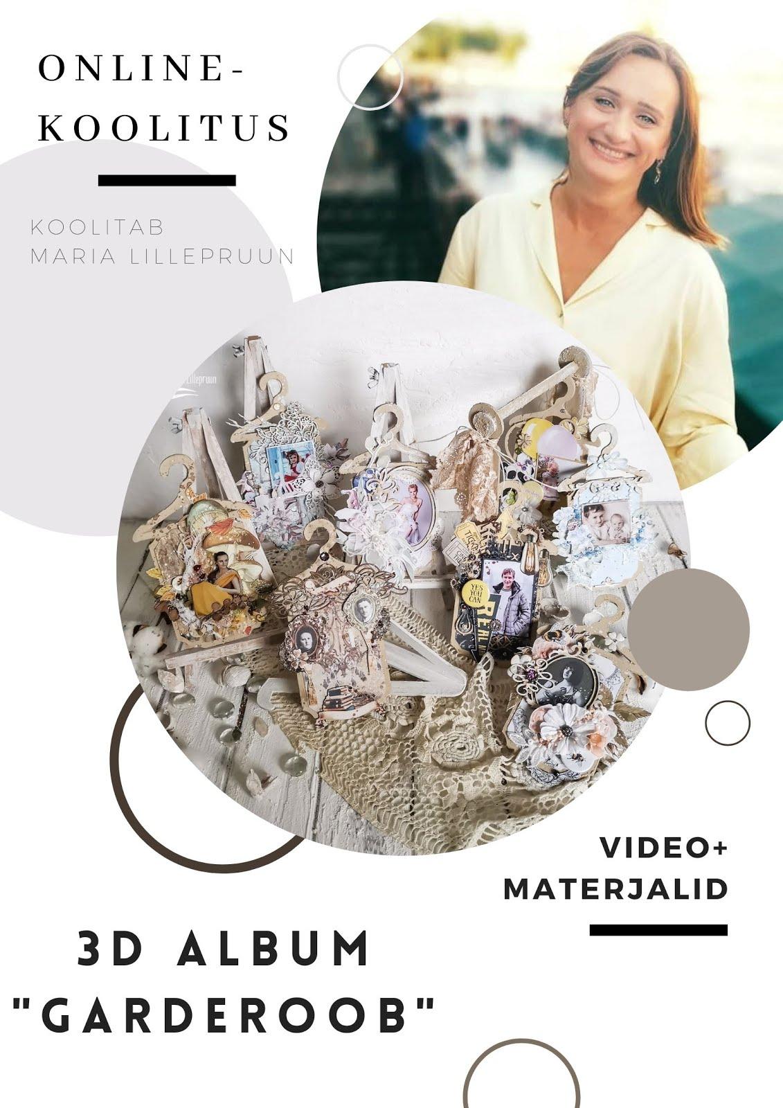 """Online-koolitus """"3D album """"Garderoob"""" (eesti keeles)"""