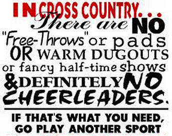 Funny cross country quotes for girls