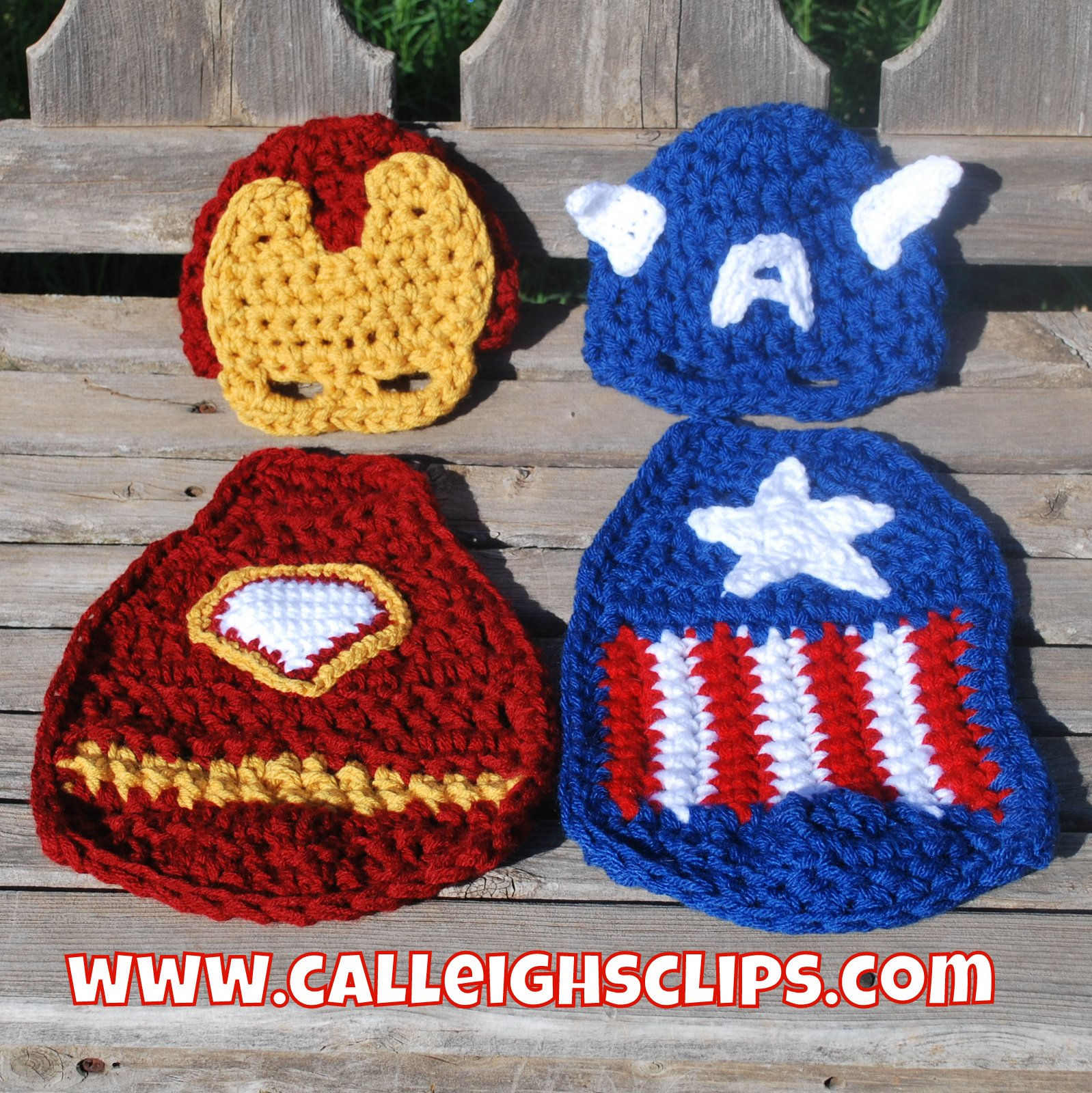 Calleighs Clips Crochet Creations American Crusader Cuddle Cape