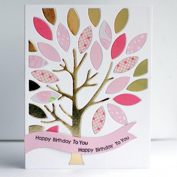 Leigh Penner Chickaniddy Crafts Spring Card