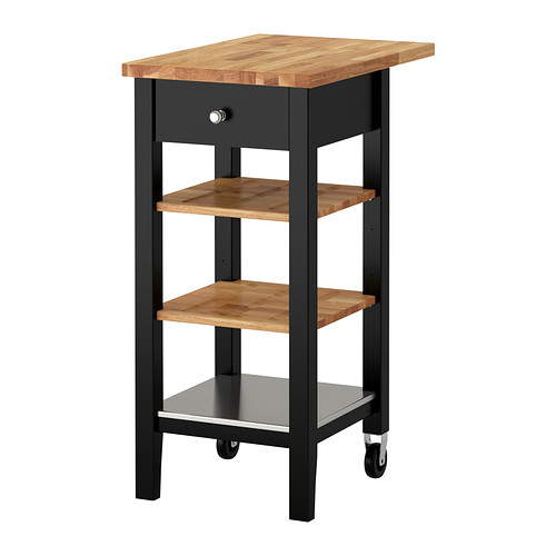 Ikea Kitchen Cart: Black Kitchen Cart