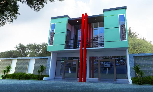 jasa desain apartemen dan ruko jasa exterior design murah