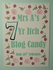 Mrs A's 7 Year Itch Blog Candy