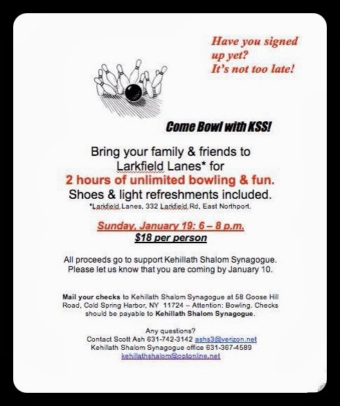 Come bowl with your friends from KSS