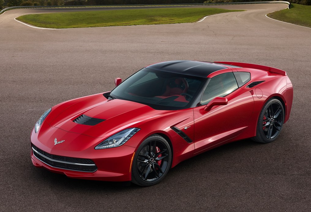 2013 Chevrolet Corvette red