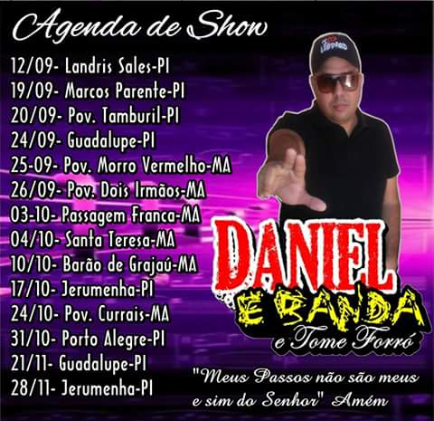 DANIEL E BANDA E TOME FORRÓ