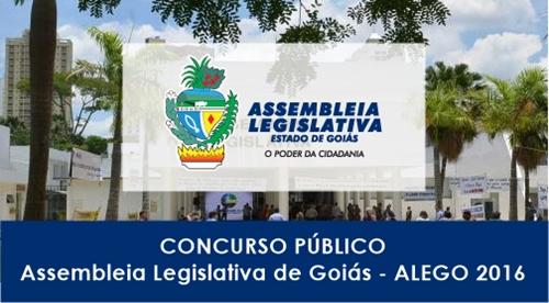 Apostila Concurso ALEGO Goiás 2017
