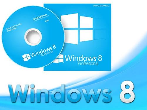 Ativador do Windows 8 todas as Versões