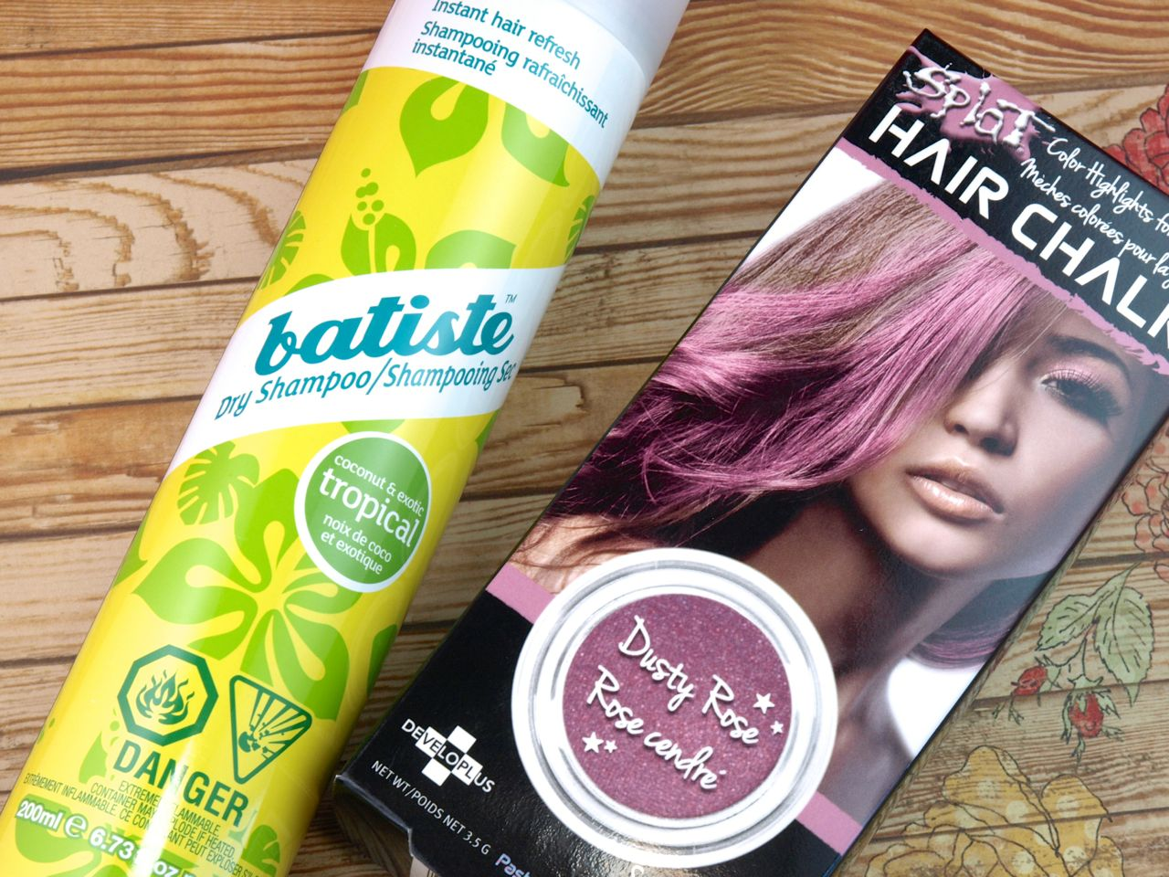 Summer Hair Essentials Featuring Batiste Dry Shampoo And Splat Hair