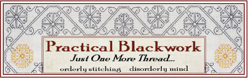 Just One More Thread - Practical Blackwork , or ...