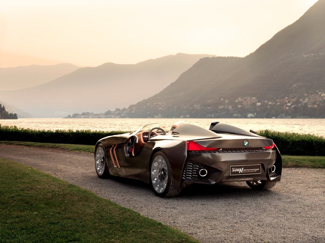 The Bmw 328 Hommage on alfa romeo sportiva