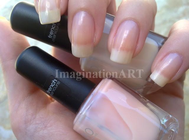 Kiko_206_Beige_French_209_Rosa_Baby_French_Manicure