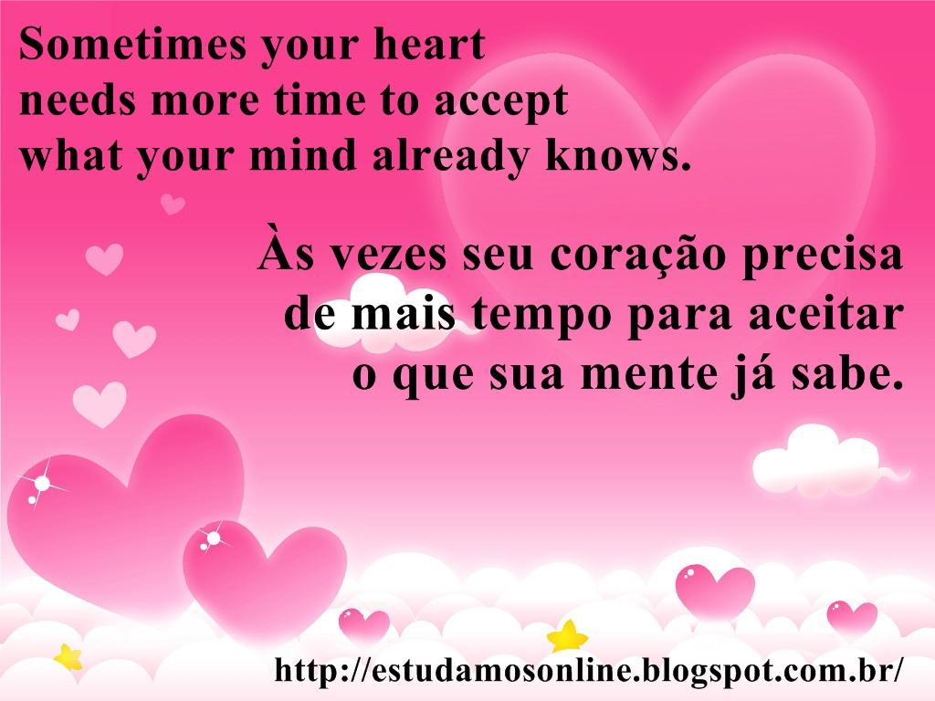 Frases De Amor Em Ingles Com Tradução Em Portugues