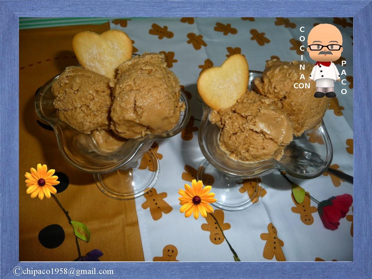 Cocina con paco helado de yogur y caf - Cocina con paco ...