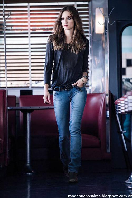 moda jeans Wrangler invierno 2014