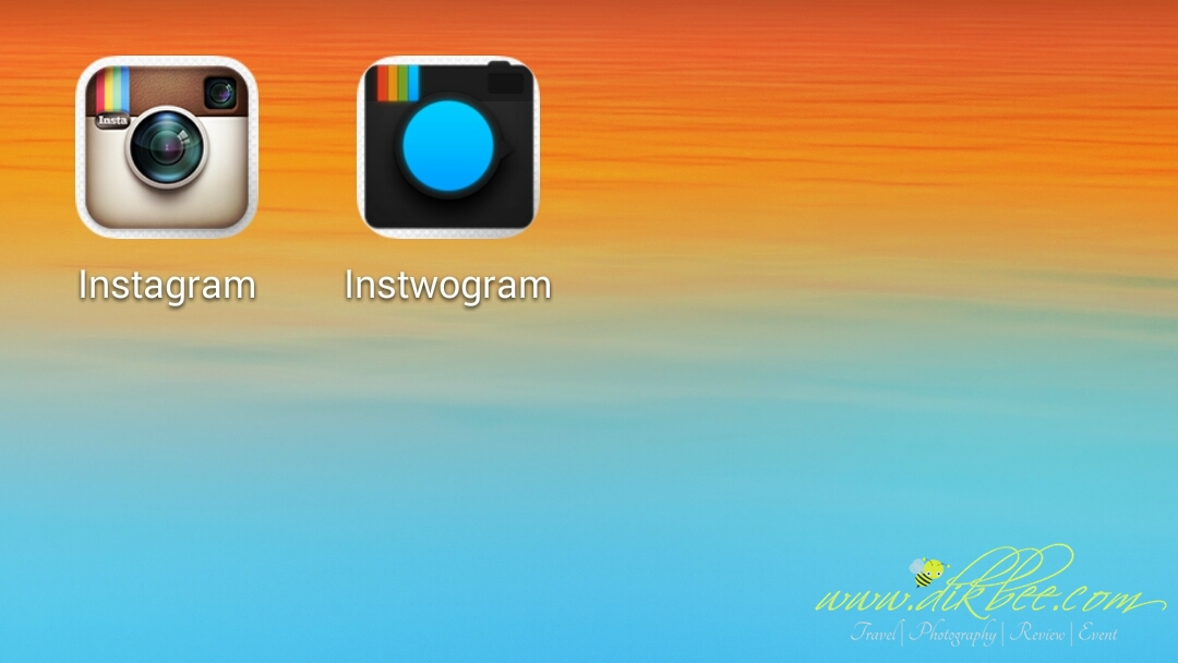 Dua Akaun Instagram Dalam Satu Telefon