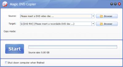 Magic DVD Copier 8.1.0 Including REPT