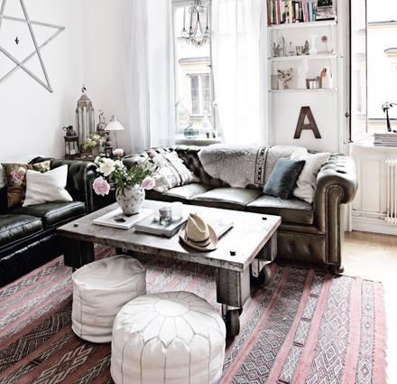 Modern Bohemian Apartment Decor Ideas