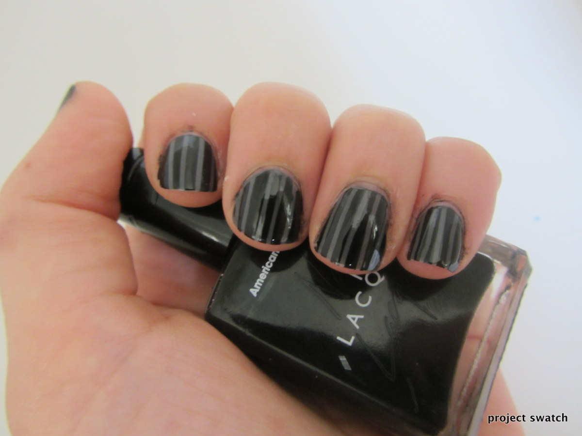 Nail Art for Short Nails: Pinstriped Nails Tutorial - Project Swatch