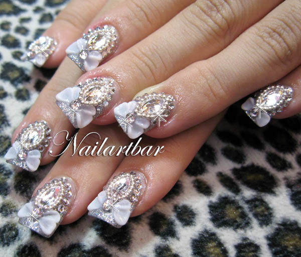The Extraordinary Colorful nail designs glamour style Picture