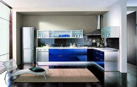 Contoh konsep ide dapur minimalis mewah desain elegant dengan